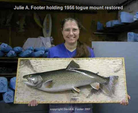 1956 Footer Togue mount restored